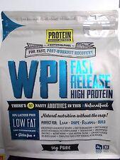 4 x 1kg PROTEIN SUPPLIES AUSTRALIA Whey Protein Isolate WPI Pure 4kg
