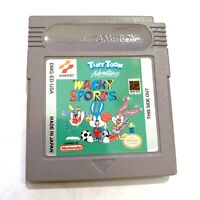 Tiny Toon Adventures Wacky Sports Original Nintendo Gameboy Game TESTED WORKING!