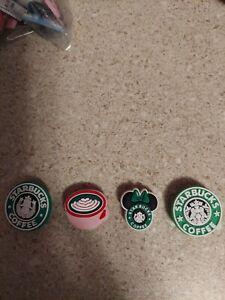 crocs charms-Starbucks