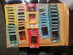 THE SIMPSONS FILM CARDZ SERIES 1 COMPLETE (45) CARD SET AND FREE VIEWER