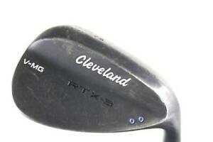 Cleveland RTX-3 Black Satin Lob Wedge 62° Right-Handed Steel #15806 Golf Club