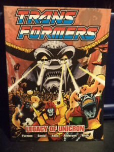 Transformers - Legacy of Unicorn (Marvel-Titan Books) Graphic Novel