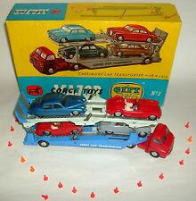 CORGI Gift Set 1, CORGI Carrimore, Corgi Auto Transporter. ORIGINALE 60 anni