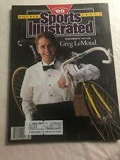 GREG LEMOND Sportsman of the Year January 1, 1990 Sports Illustrated