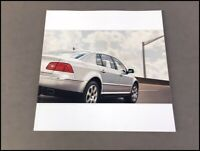 2004 VW Volkswagen Phaeton 76-page Original Car Sales Brochure Catalog