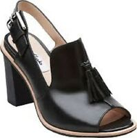 Clarks BNIB Narrative Ladies Stylish Oriana Billy Black Leather