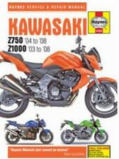 Haynes 4762 2003-2008 Kawasaki Z750 Z1000 Maintenance Repair Service Shop Manual
