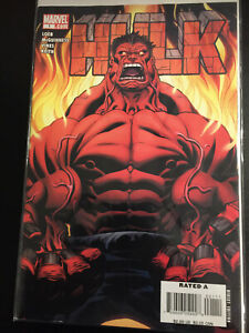 Hulk #1 1st Red Hulk marvel march 2008 v/f f