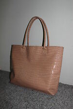 AUTHENTIC NAPOLEON PERDIS COSMETICS TOTE BAG TAN/LIGHT BROWN , BRAND NEW, NO TAG