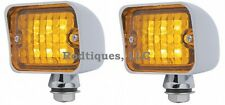 Amber LED Taillights Turn Signal Running Brake Light Dune Buggy Bug Sandrail VW