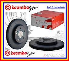 Brembo Max Sport 2x Bremsscheiben 280mm VA- VOLVO S70,C70,V70,S90,850 960 II