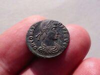 Constans - Roman Emperor 337-350 A.D. Follis, FELTEMPREPARATIO - Phoenix
