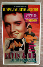 ELVIS PRESLEY  ELVIS AND ME RARE  VHS SECAM VERSION FRANCAISE