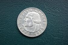 Drittes Reich: 5 Reichsmark / Mark 1933 D - Luther 450.Geburtstag - J.353 - vz !