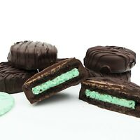 Philadelphia Candies Dark Chocolate Covered Mint Creme OREO® Cookies, 8 Ounce