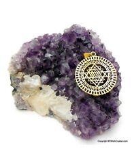 Reiki Energy Charged Pentagon Chakra Pendant for Reiki Healing Meditation UK