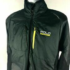 Ralph Lauren Polo Sport Mens Black Reflective Hybrid Jacket 2xl
