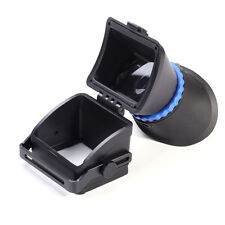 Universal 3X Magnification LCD Viewfinder Eyecup For Canon Nikon Sony Pentax