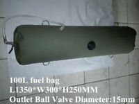 25 Gallon  Fuel Bag Petrol Bag Gasoline Diesel Bladder Tank For SUV Car