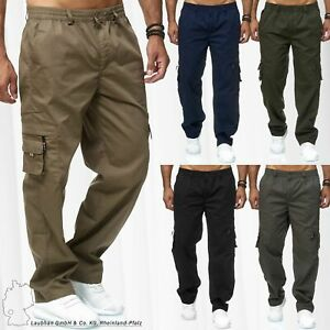Herren Thermo Cargo Hose Gefüttert Trekking Taschen Pants Taktische Arbeitshose