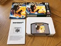 Nintendo  64 N64 The World Is Not Enough 007