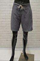 Costume KAPPA Uomo Taglia Size XXL Bagno Mare Piscina Shorts Pantaloncino Grigio