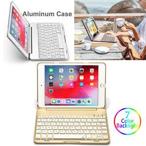 Slim Stand Tablet Cover Wireless Bluetooth Keyboard Case for iPad Mini 5 Mini 4