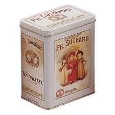 Boite métal Rétro Vintage Chocolat Suchard - Reproduction Publicité ancienne