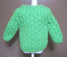 Vintage Francie Mod Hill Riders Green Sweater 1210 Barbie Doll 1968-1969 No Snag
