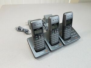 Uniden DECT 6.0 DECT1080 3-Line Cordless Home Phone Digital Answering System