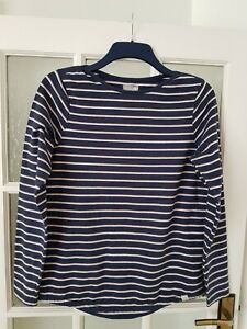 FAT FACE   jersey long sleeve top size 12