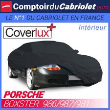 Housse / Bâche protection COVERLUX Porsche Boxster en Jersey - couleur noire