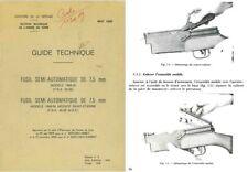 MAS-Fusil Semi-Automatique De 7,5mm Modele 1949-56 et Modefie