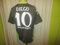 """Werder Bremen Kappa Event Trikot 2007/08 """"Citibank"""" + Nr.10 Diego Gr.M- L TOP"""