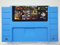 Super 49 in 1 Nintendo SNES Game Cartridge 16-Bit Multicart NTSC Free Shipping