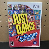Just Dance: Disney Party Game Complete & Tested - (Nintendo Wii) Free Ship