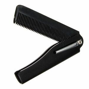 Men's Handmade Folding Pocket Clip Hair Moustache Beard Comb Hot Sale Fashion
