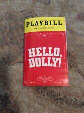 HELLO, DOLLY! BROADWAY MUSICAL PLAYBILL NEW YORK SHUBERT THEATRE DONNA MURPHY NY