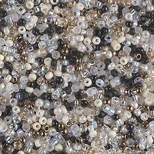 8/0 Granite Mix Miyuki Round Glass Seed Bead Mix 10 grams