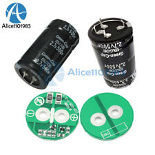 2.7V 500F Farad Electrolytic Capacitor Four/Two Feet Capacitor Balancing Board