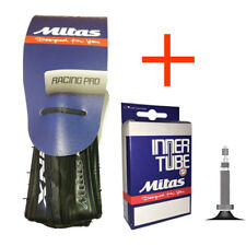 Mitas Syrinx 700 x 23 or 25c Road Tyre Puncture Protected + Tube
