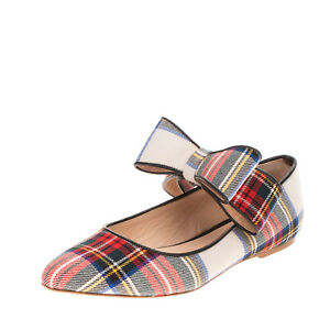 RRP €260 POLLY PLUME Mary Jane Flat Shoes Size 40 UK 7 US 10 HANDMADE in Italy