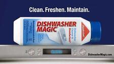 2x Dishwasher Magic Dishwasher Cleaner Freshens Descaler Removes Smells Grime