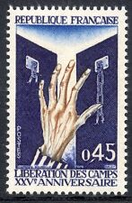 STAMP / TIMBRE FRANCE NEUF LUXE N° 1648 ** LIBERATION DES CAMPS DE CONCENTRATION
