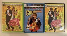Austin Powers Dvd Lot of 3 Mike Myers - Great quality - Free Shipping!