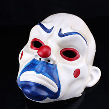 Joker Bank Robber Mask Clown Batman Dark Knight Dress Up Halloween Costume