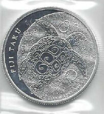 2013 1 oz Fiji Taku $2 New Zealand Mint .999 Fine Silver