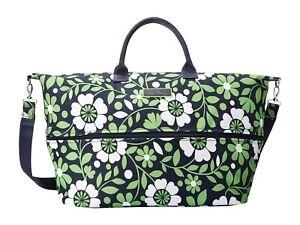 Brand NEW Vera Bradley Lighten Up Expandable Travel Bag Lucky You SUPER LARGE