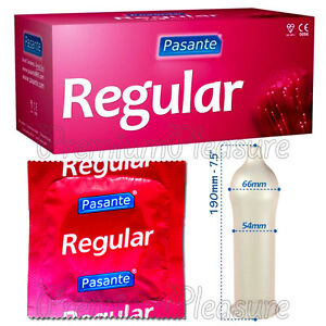 Pasante REGULAR Classic condoms x 1 - 3 - 10 - 20 - 50 - 100 pcs * FREE shipping