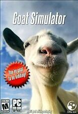 Goat Simulator (PC, 2014) Brand New Sealed 1829-BR13)